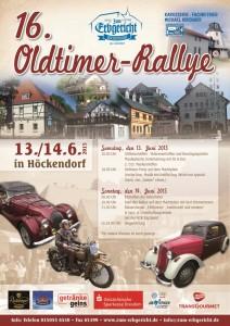 Plakat Oldtimer Ralley